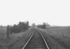 The line from Great Alne towards Alcester